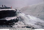 Frozen Gullfoss - Click to enlarge